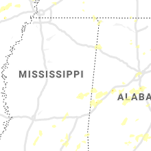 Regional Hail Map for Starkville, MS - Friday, May 22, 2020