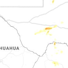 Regional Hail Map for Alpine, TX - Saturday, May 23, 2020