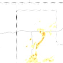 Regional Hail Map for Amarillo, TX - Saturday, May 23, 2020