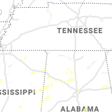 Regional Hail Map for Florence, AL - Saturday, May 23, 2020
