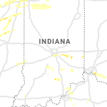 Regional Hail Map for Indianapolis, IN - Saturday, May 23, 2020