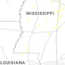 Regional Hail Map for Jackson, MS - Saturday, May 23, 2020