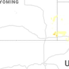 Regional Hail Map for Laramie, WY - Saturday, May 23, 2020
