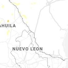 Regional Hail Map for Laredo, TX - Saturday, May 23, 2020