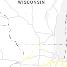 Regional Hail Map for Madison, WI - Saturday, May 23, 2020