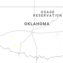 Regional Hail Map for Oklahoma City, OK - Saturday, May 23, 2020