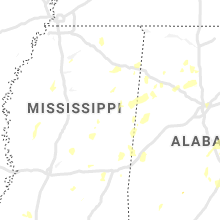 Regional Hail Map for Starkville, MS - Saturday, May 23, 2020