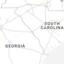 Regional Hail Map for Augusta, GA - Sunday, May 24, 2020
