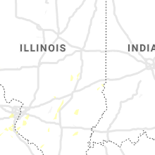 Regional Hail Map for Mattoon, IL - Sunday, May 24, 2020