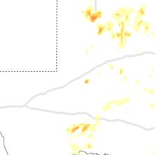 Regional Hail Map for Odessa, TX - Sunday, May 24, 2020