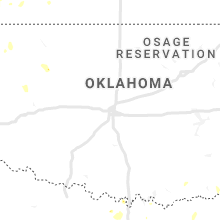 Regional Hail Map for Oklahoma City, OK - Sunday, May 24, 2020