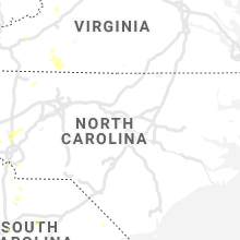 Regional Hail Map for Raleigh, NC - Sunday, May 24, 2020