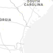 Regional Hail Map for Savannah, GA - Sunday, May 24, 2020