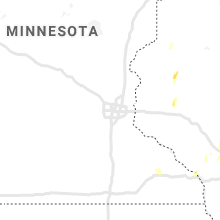 Regional Hail Map for Minneapolis, MN - Tuesday, May 26, 2020