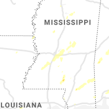 Regional Hail Map for Jackson, MS - Wednesday, May 27, 2020