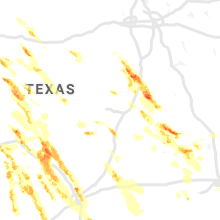 Regional Hail Map for Killeen, TX - Wednesday, May 27, 2020