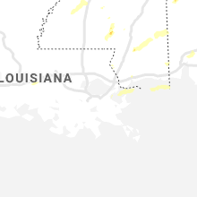 Regional Hail Map for New Orleans, LA - Wednesday, May 27, 2020