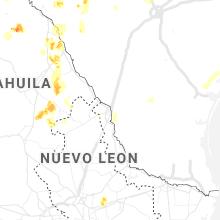 Regional Hail Map for Laredo, TX - Thursday, May 28, 2020