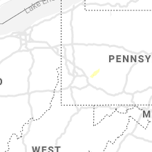 Regional Hail Map for Pittsburgh, PA - Thursday, May 28, 2020