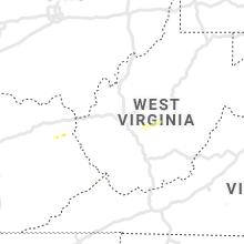 Regional Hail Map for Charleston, WV - Friday, May 29, 2020