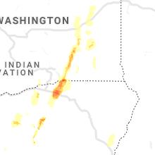Regional Hail Map for Walla Walla, WA - Saturday, May 30, 2020