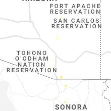 Regional Hail Map for Tucson, AZ - Sunday, May 31, 2020