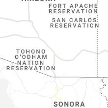 Regional Hail Map for Tucson, AZ - Monday, June 1, 2020