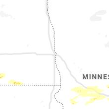 Regional Hail Map for Fargo, ND - Tuesday, June 2, 2020