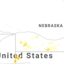 Regional Hail Map for North Platte, NE - Tuesday, June 2, 2020