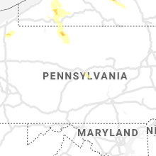 Regional Hail Map for State College, PA - Tuesday, June 2, 2020