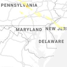 Regional Hail Map for Baltimore, MD - Wednesday, June 3, 2020