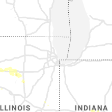 Regional Hail Map for Chicago, IL - Wednesday, June 3, 2020