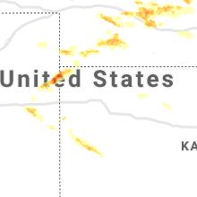 Regional Hail Map for Colby, KS - Wednesday, June 3, 2020