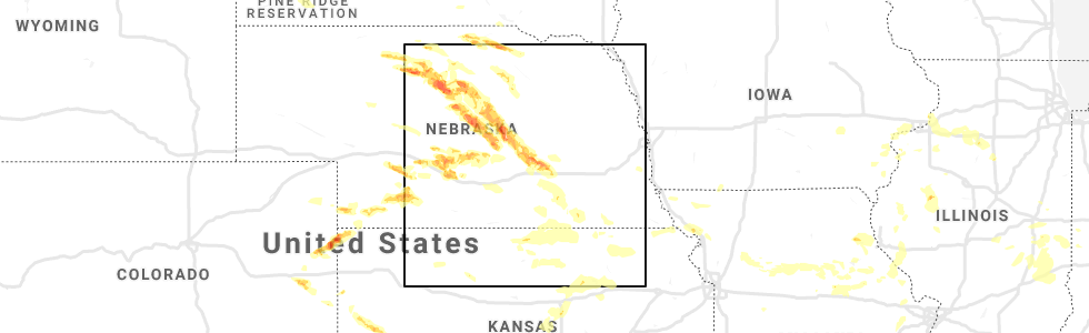 interactive hail maps hail map for hampton ne interactive hail maps