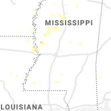 Regional Hail Map for Jackson, MS - Wednesday, June 3, 2020