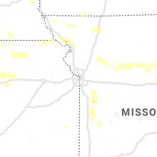 Regional Hail Map for Kansas City, MO - Wednesday, June 3, 2020