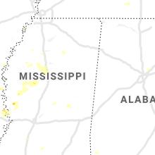 Regional Hail Map for Starkville, MS - Wednesday, June 3, 2020