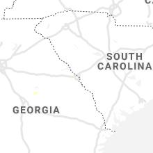 Regional Hail Map for Augusta, GA - Thursday, June 4, 2020