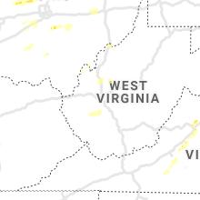 Regional Hail Map for Charleston, WV - Thursday, June 4, 2020