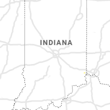 Regional Hail Map for Indianapolis, IN - Thursday, June 4, 2020