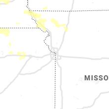 Regional Hail Map for Kansas City, MO - Thursday, June 4, 2020