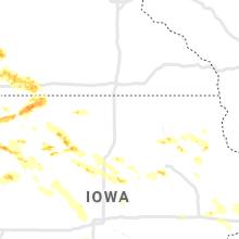 Regional Hail Map for Mason City, IA - Thursday, June 4, 2020