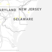 Regional Hail Map for Ocean City, MD - Thursday, June 4, 2020