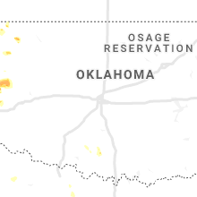 Regional Hail Map for Oklahoma City, OK - Thursday, June 4, 2020