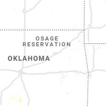 Regional Hail Map for Tulsa, OK - Thursday, June 4, 2020