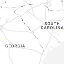 Regional Hail Map for Augusta, GA - Friday, June 5, 2020