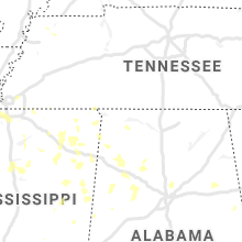 Regional Hail Map for Florence, AL - Friday, June 5, 2020