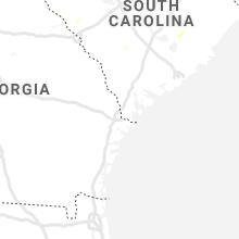 Regional Hail Map for Savannah, GA - Friday, June 5, 2020