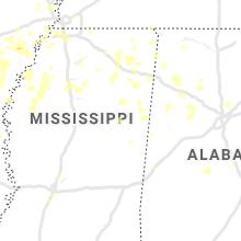 Regional Hail Map for Starkville, MS - Friday, June 5, 2020