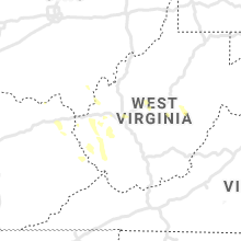 Regional Hail Map for Charleston, WV - Saturday, June 6, 2020
